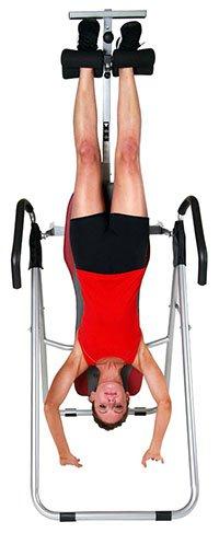 inverted back stretch