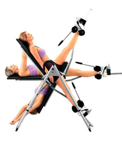 inversion therapy positions